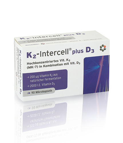 Witamina K2 - Intercell® plus D3